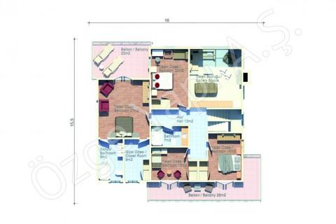 American Style Villa - First Floor