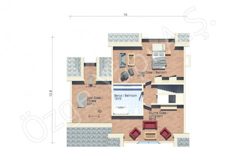 American Style Villa - Penthouse