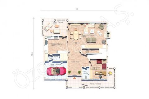 American Style Villa - Ground Floor
