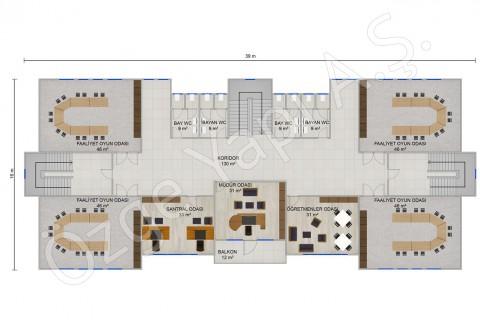 Kindergarten 1166 m2 - 1First Floor