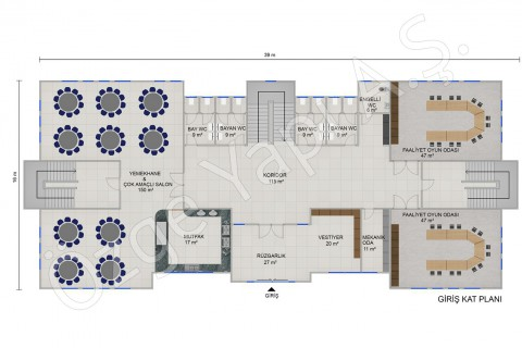 Kindergarten 1166 m2 - Ground Floor