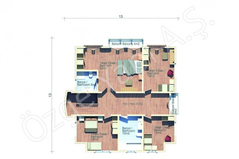 Arabic Style Villa - First Floor