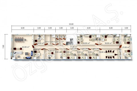BKO 273 m2 - First Floor