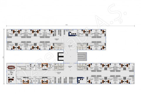 Hospital 4340 m2 - 1st and 2nd Floor