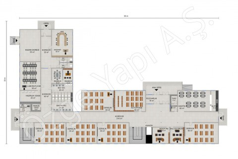Primary School 2388 m2 - Ground Floor
