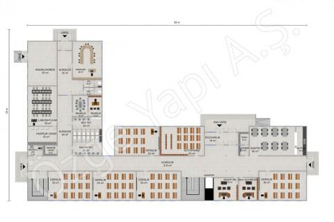 Primary School 2388 m2 - Ground Floor