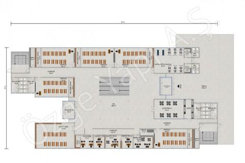 Primary School 3036 m2 - Ground Floor