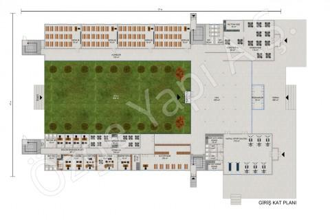 High School 3453 m2 - Ground Floor