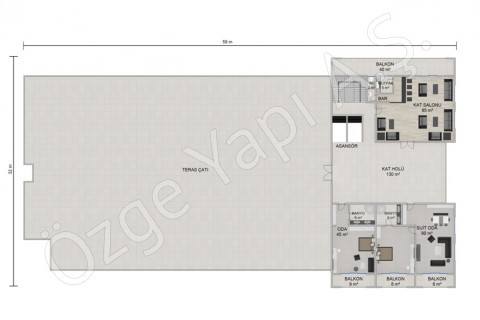 Hotel 8115 m2 - 3rd Floor