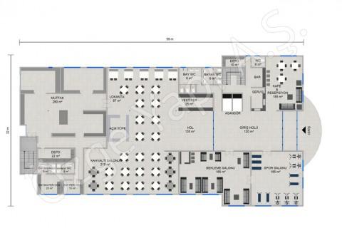 Hotel 8115 m2 - Ground Floor
