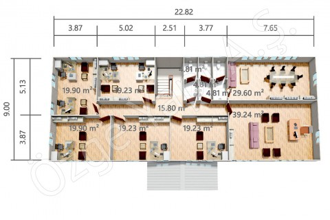 PRO 415 m2 - First Floor