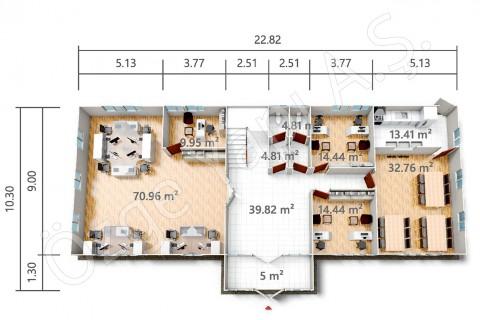 PRO 415 m2 - Ground Floor