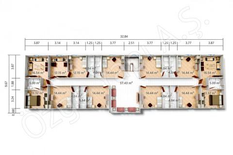 PRST 598 m2 - First Floor