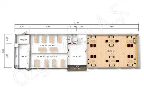 PRST 598 m2 - Ground Floor