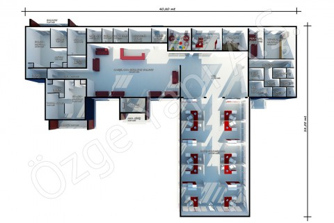 Sales Office 645 m2