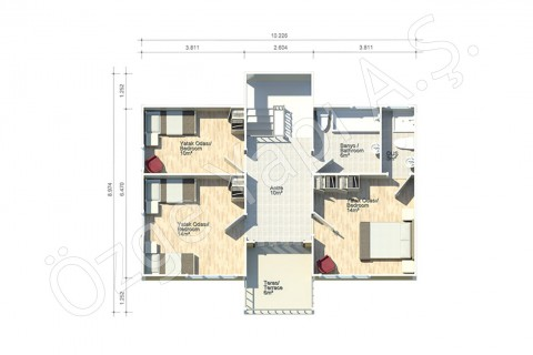 Turkish Style Villa - First Floor