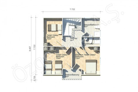 Anemon 128 m2 - First Floor