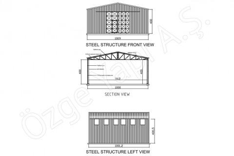 Steel Building 100 m2