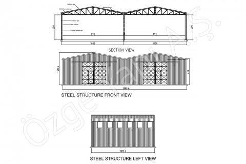 Steel Building 200 m2
