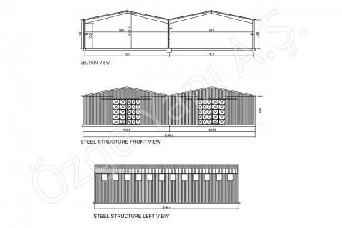 Steel Building 500 m2