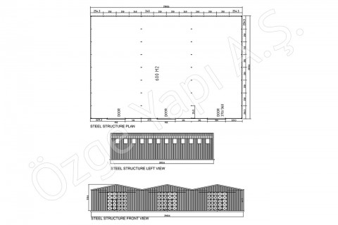 Steel Building 600 m2
