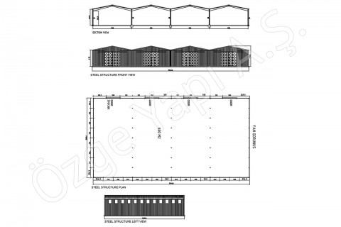 Steel Building 800 m2