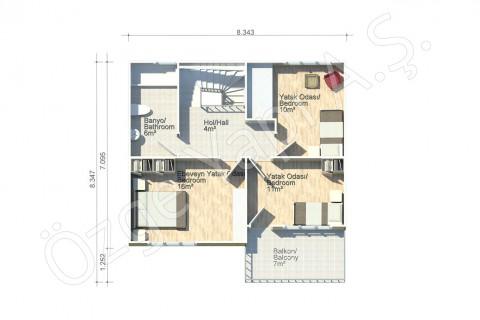 Lilyum 136 m2 - First Floor