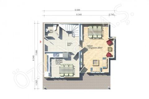 Lilyum 136 m2 - Ground Floor