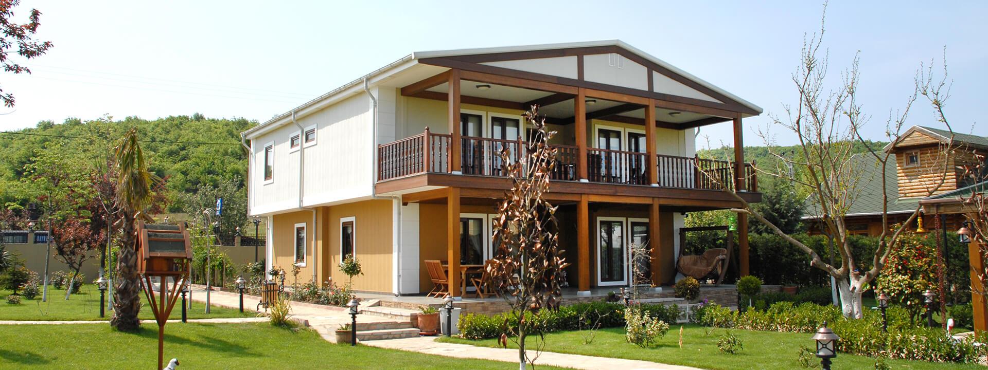 Duplex Prefabricated House Zge Yap