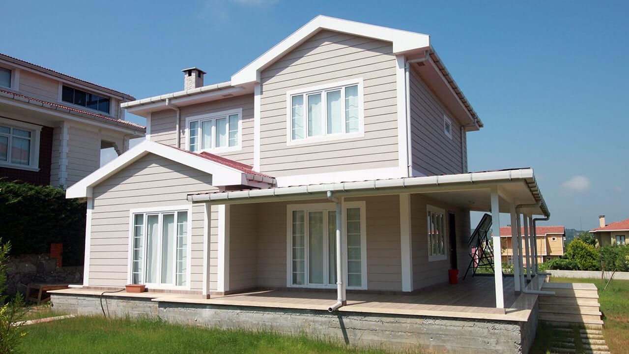 Duplex prefabricated house zge yap for Duplex prefab homes