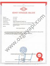 Service Qualification Certificate