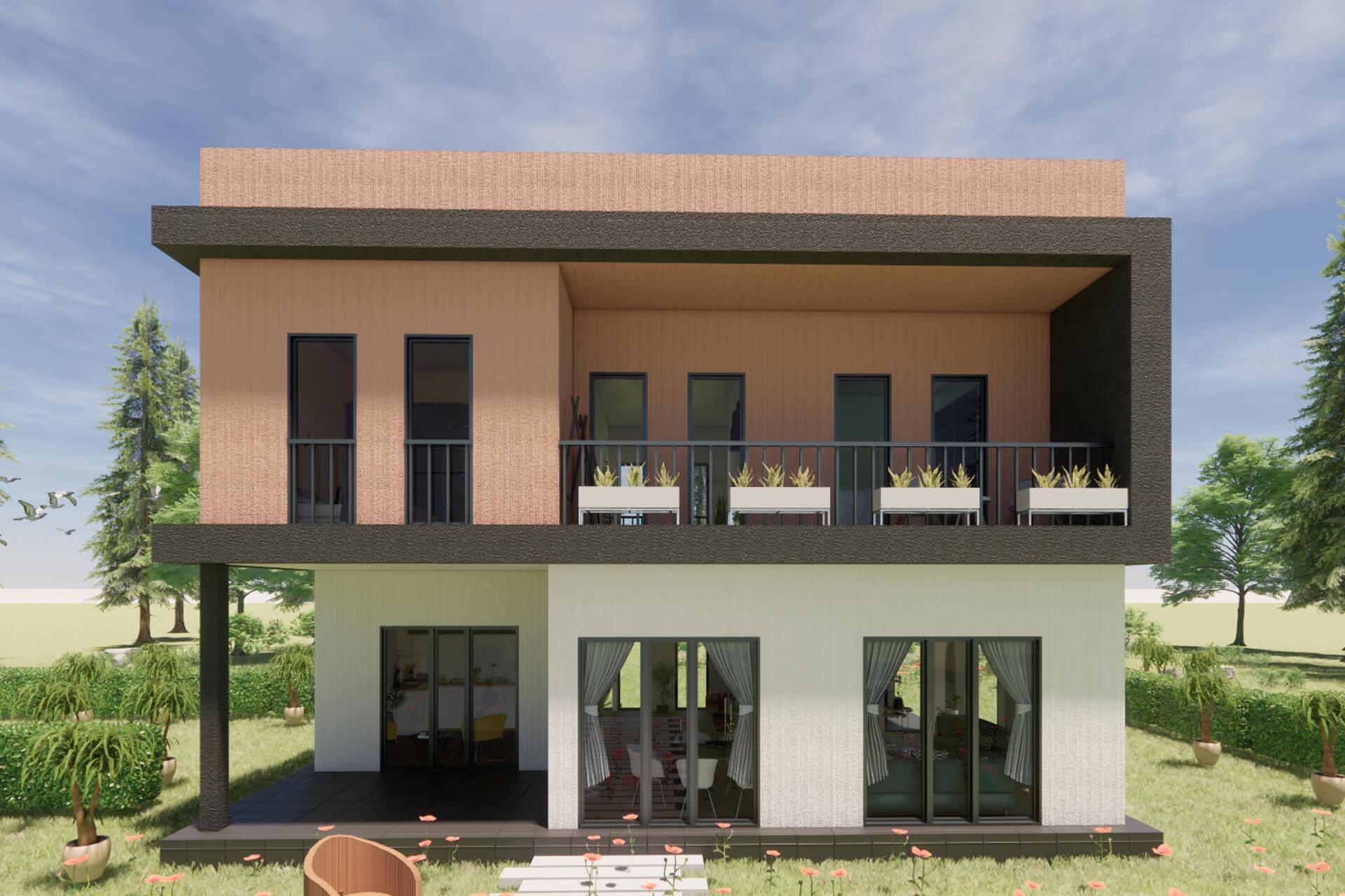 Prefabricated Modern Villas